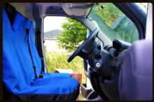 Single Driver Seat Cover for Vans